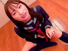 Mika Osawa the Cum Swallowing Teen Gets plenty of cum to eat