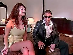 Tera Patrick the gorgeous brunette shows her passion