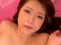 Ria Horisaki has oral sex and gets fucked doggy style