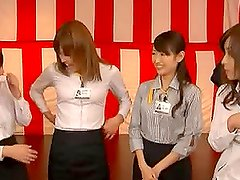 Best tits and best cock competition in some kinky Japanese school