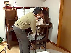 Salacious piano teacher fucks his student during the lesson