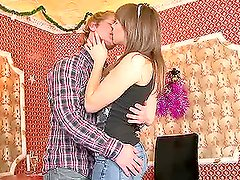 Horny blondie Wendy gets fucked in the bar