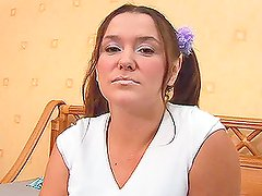 Busty woman Jenny pretends to be a teen and gets fucked