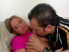 Chase 2 moans crazily while getting her sweet pussy pounded