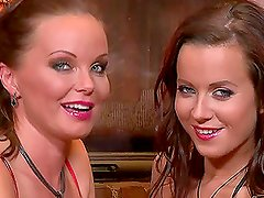 Cindy Dollar and Silvia Saint pleasuring each other on Christmas Eve