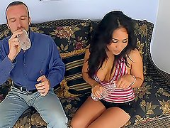 Jessica Bangkok has a perfect fuck with a long-haired guy