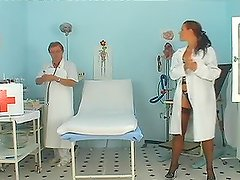 Sexy girl gets her pussy fucked two times in the hospital