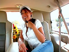 Play this video to see hot banging on the backseat of a car