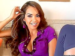 Daisy Marie's Tight Pussy Says Yes Yes Yes!