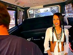 Gorgeous cop girl gets banged in the bandbus