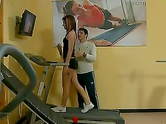 Hot fitness coach loves job since so much of hot babes arу ready to fuck