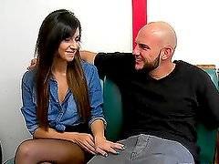 Layla Lopez the pretty brunette girl fucks for money