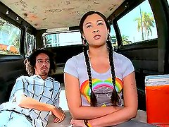 Kimora's day out ends up in the BangBus