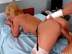 Doctor girl fucked by big cock