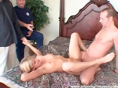 Milf happily takes cock and cum while cheating