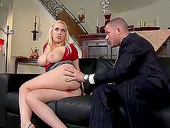 Canadian Gigolo Big Cock Fuck On Couch With Cumshot