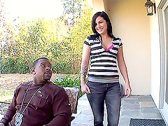 Hardcore Action With Tori Lux And A Big Black Cock
