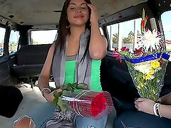 Having Sexy Fun in the Back of the Van with Flower Mamas