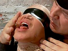 Hot Busty Sluts Hogtied and Forced to Suck Dick in BDSM