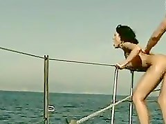 Having Sex on a Yacht with Brunette Slut Soffie Gently