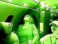 Hot Britney Spears in Nipple-Exposing Top Inside an Airplane