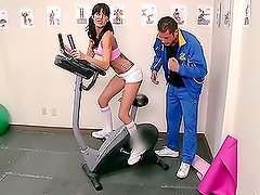 Marathonic Hardcore Sex in the Gym with Brunette Gia Dimarco