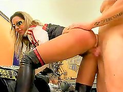 Awesome Hardcore Action with Sexy Biker Chick Daria Glower