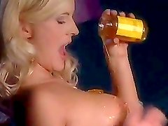 Hot Blonde Slut Blowjob With a Sweet Cumswallow