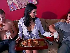 Banging the Roommate's Hot Mom Shay Sights in Hardcore Sex Video