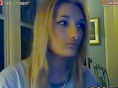 Sexy Webcam Teen Plays With Her Big Tits