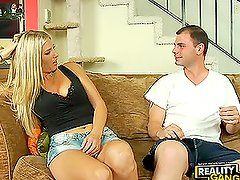 MILF Jordan Kingsley Comes To Rescue & Finds Big Cock To Fuck