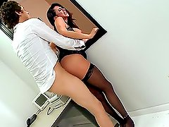 Wild Hardcore Sex With The Busty Ariella Ferrera In A Wedding Party