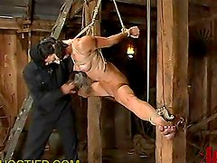 Kidnapped Babe Gets Tortured BDSM Style