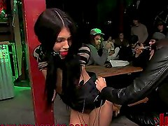 Humiliation 101 With A Very Hot Brunette Babe