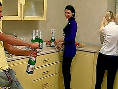 Dirty Party With Hot College Sluts