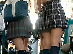 Naughty Schoolgirl Has a Public Sex Adventure