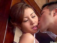 Fingering and Toying an Asian's Wet Tight and Hairy Pussy
