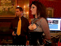 Brunette Girls Get Humiliated in Kinky Private Club