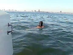 Micah Moore Gets a Dick Ride on a Boat