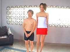 Asian Race Queen Reika Sanada Has Her Hairy Pussy Drilled