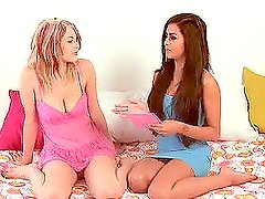 Hot Michelle Maylene Interviews The Sexy Blonde Babe Bree Daniels
