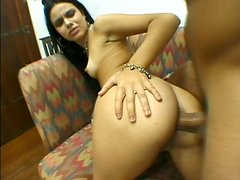 Katia Killer rubbing her clit in cow girl style