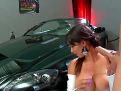 Elite whore Isis Love gets dirty fucked on the luxury car hood