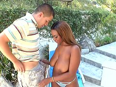Tori Taylor gets her saggy tits palmed and squeezed