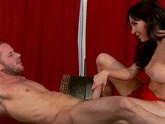 Diana Prince gets hard fucked on the table