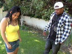 Kinky Jessica Bangkok gets poked doggy in the small house