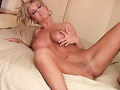 Sexy Sweet Christine Vinson Gets Too Hot Handle In Bed Naked