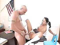 Sexy Whore Jessica Valentino Getting Rammed Hard On Her Tight Twat