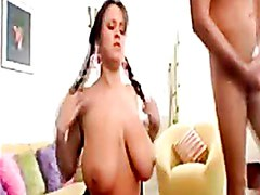 Pechugona - Brandy Taylor Gets Sprayed With A Fresh Load Of Cum On Her Big Tits