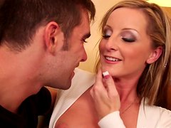Melissa Matthews agrees for a quickie with her friend's husband